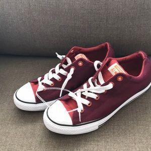 Converse Maroon Sneakers